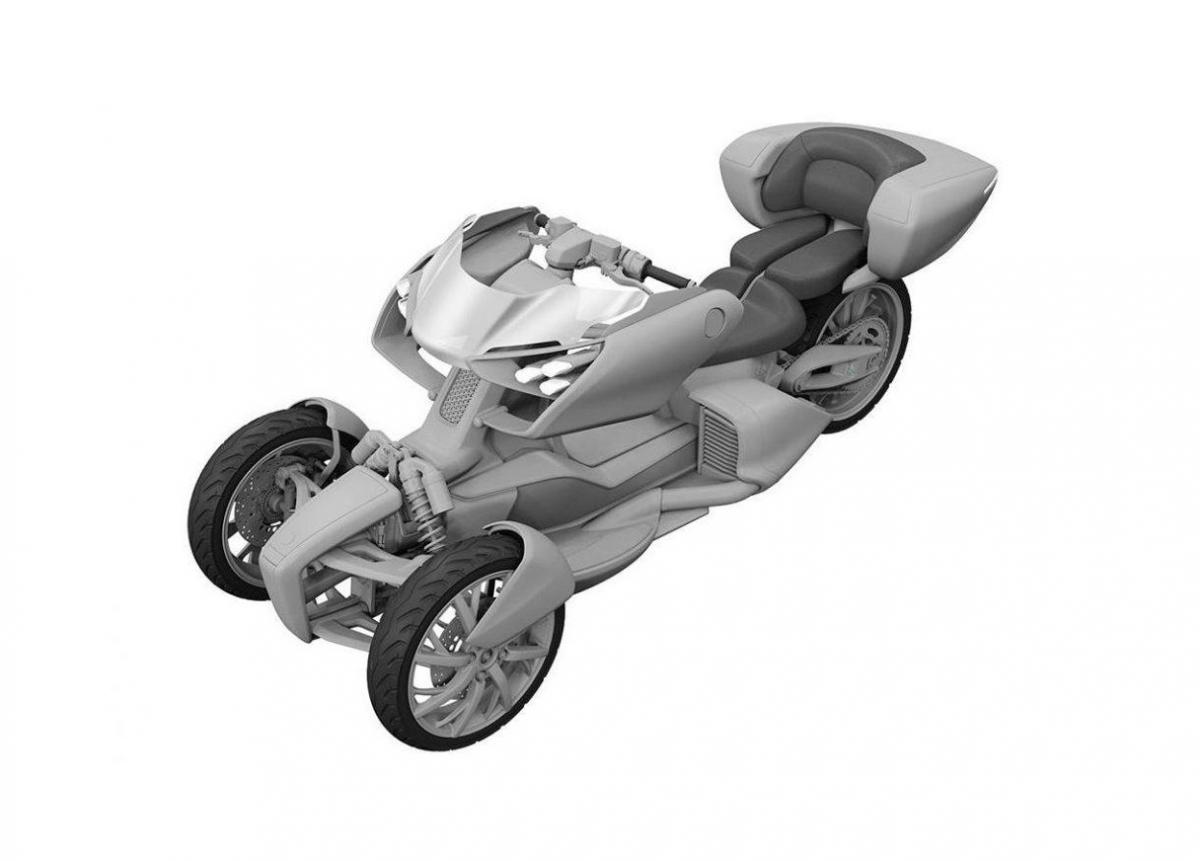 Yamaha Trike concept patents
