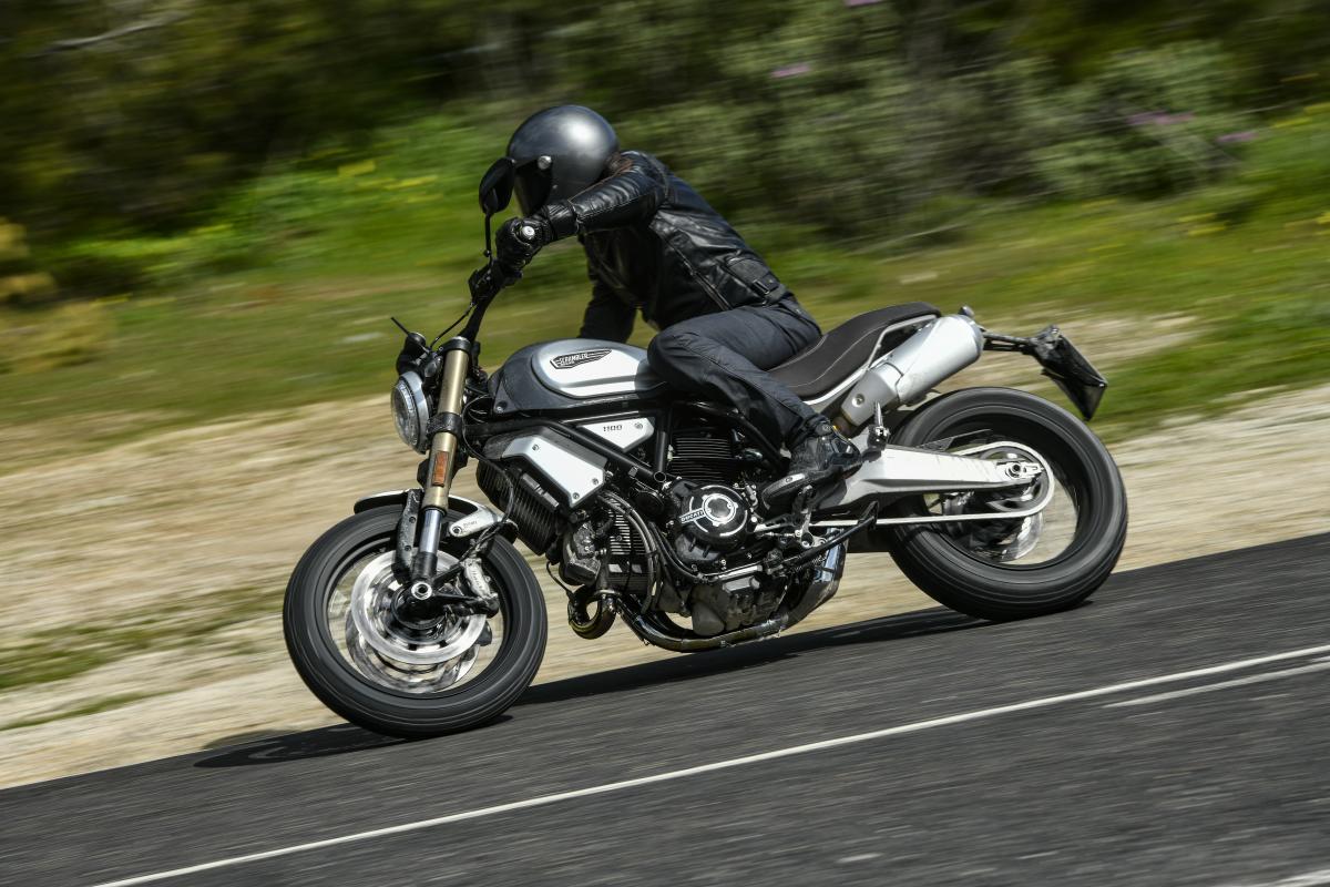 First Ride Ducati Scrambler 1100 Review Visordown