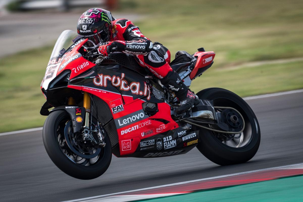 Scott Redding - Aruba.it Ducati [credit: Aruba.it Ducati]
