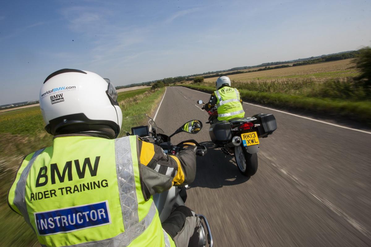 BMW new rider training centres