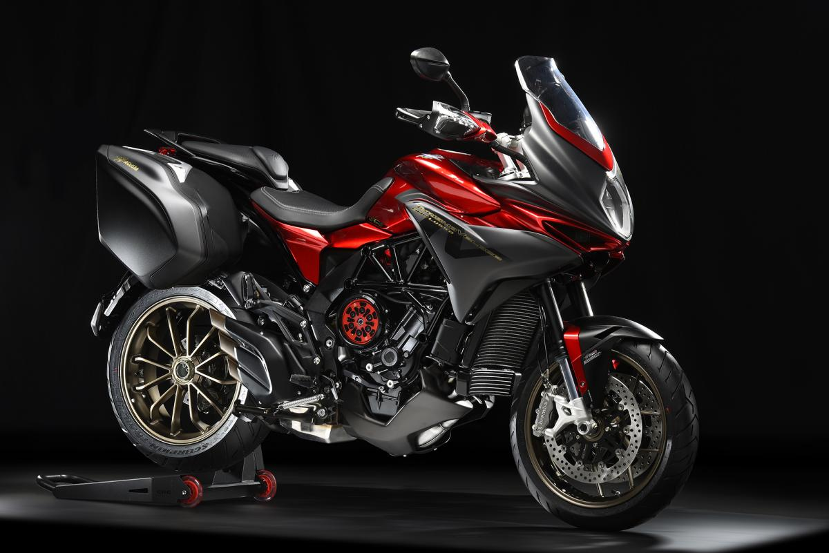 MV reveals tourer with semi-auto clutch