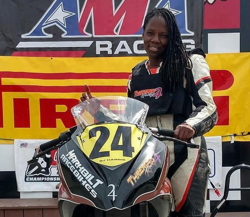 Joi SJ Harris Dead Pool 2 stunt rider