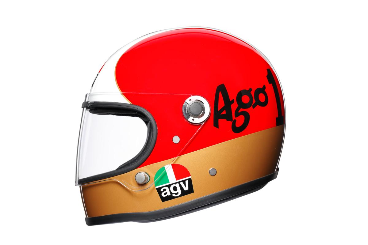 AGV launches Legends helmets collection