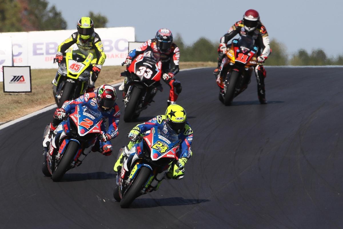 Moto America Suzuki Toni Elias