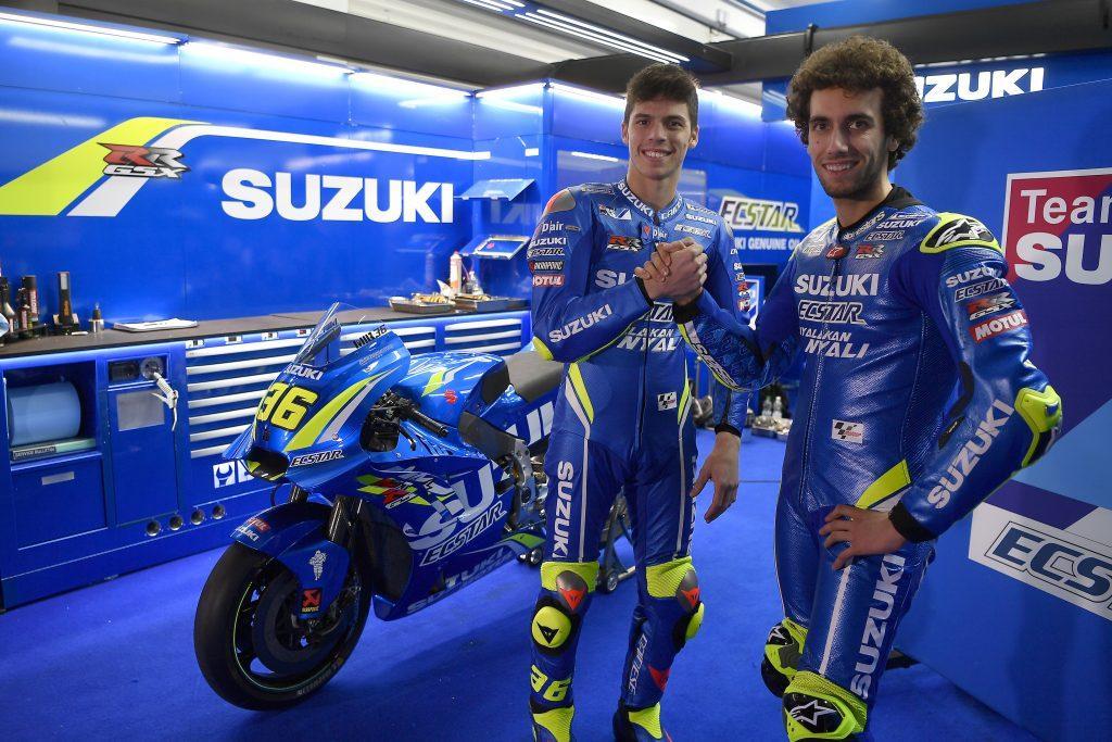 Suzuki Moto GP taster sessions Silverstone