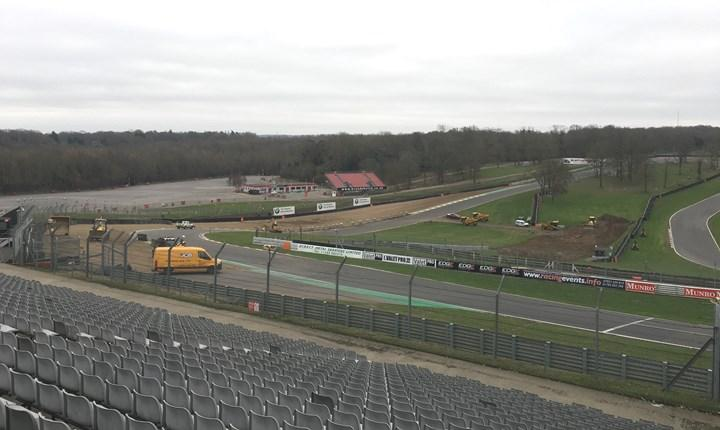 Brands Hatch undergoes track updates