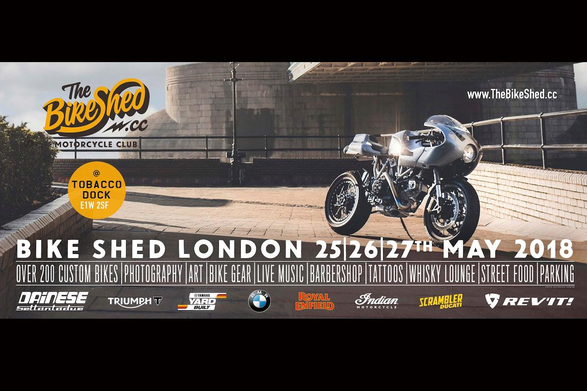 Bike Shed London Motorcycle Show - this weekend!