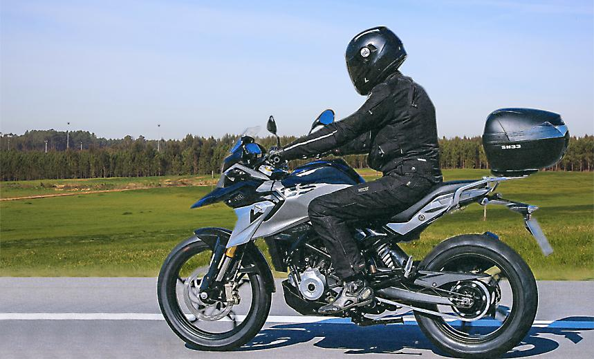 Small-capacity BMW GS spotted testing