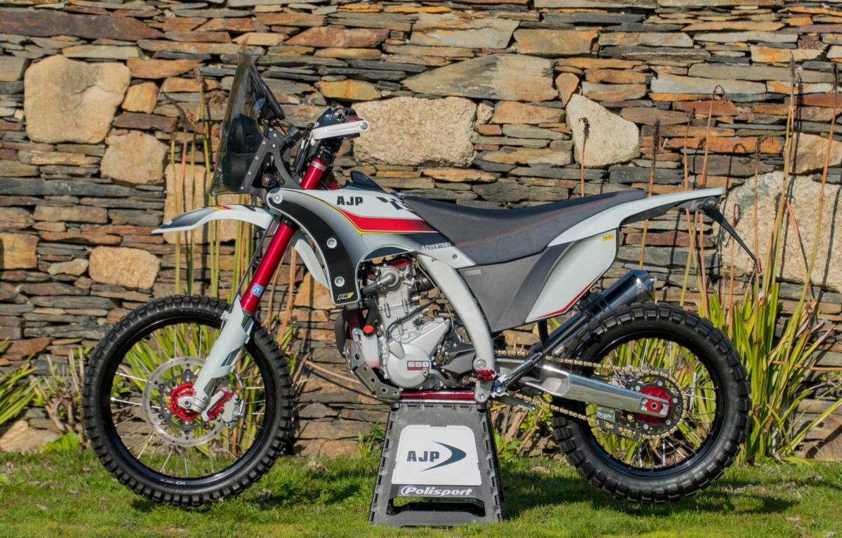 AJP announce the PR7 Adventure