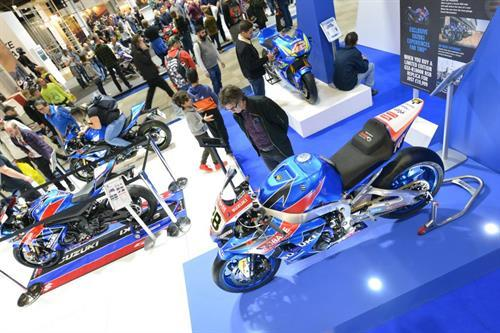 SUZUKI RAISES OVER £4000 FOR CHARITY AT MOTORCYCLE LIVE