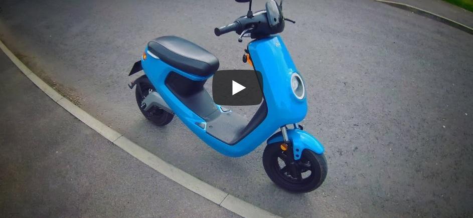NIU M-Series Smart Electric Scooter Vlog