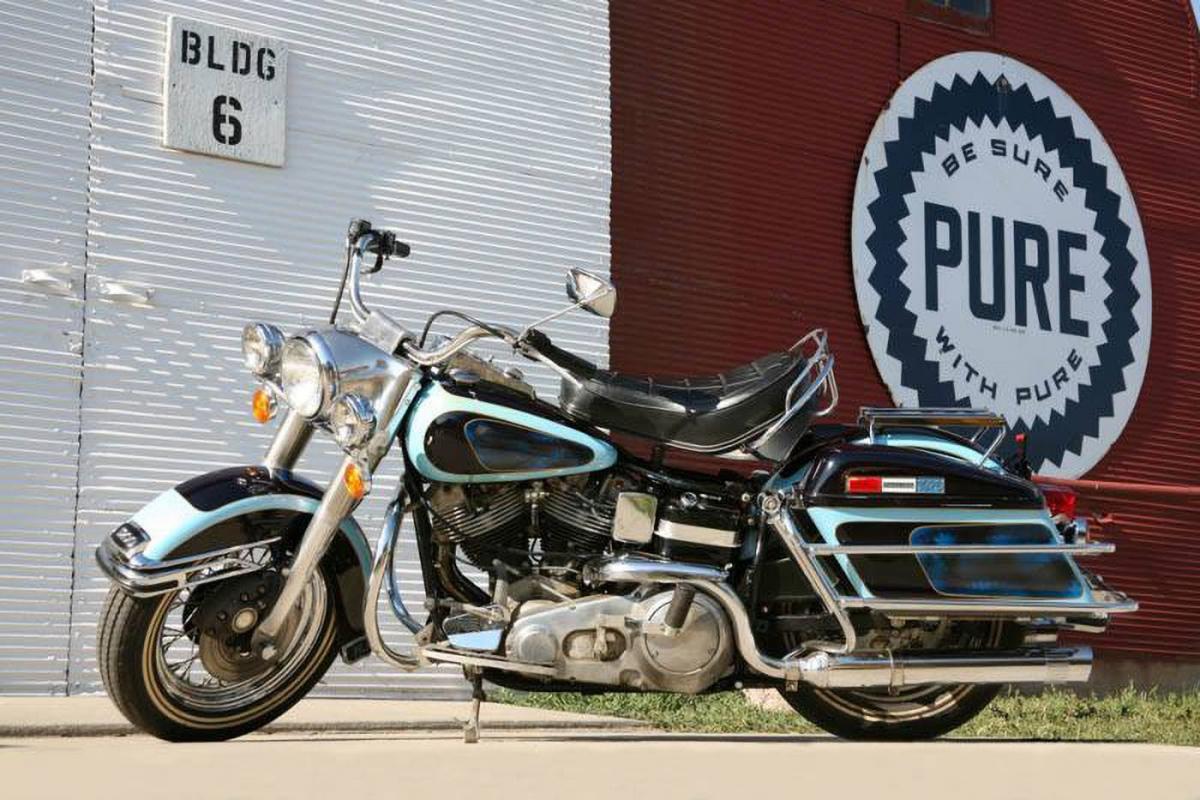 1976 Harley-Davidson FLH 1200 Electra Glide Elvis Presley