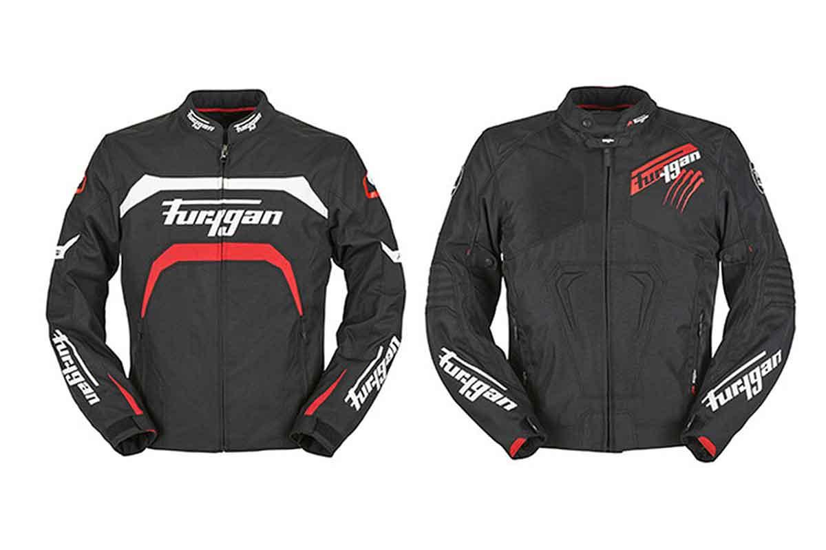 Two new textile jackets from those Furygan chaps