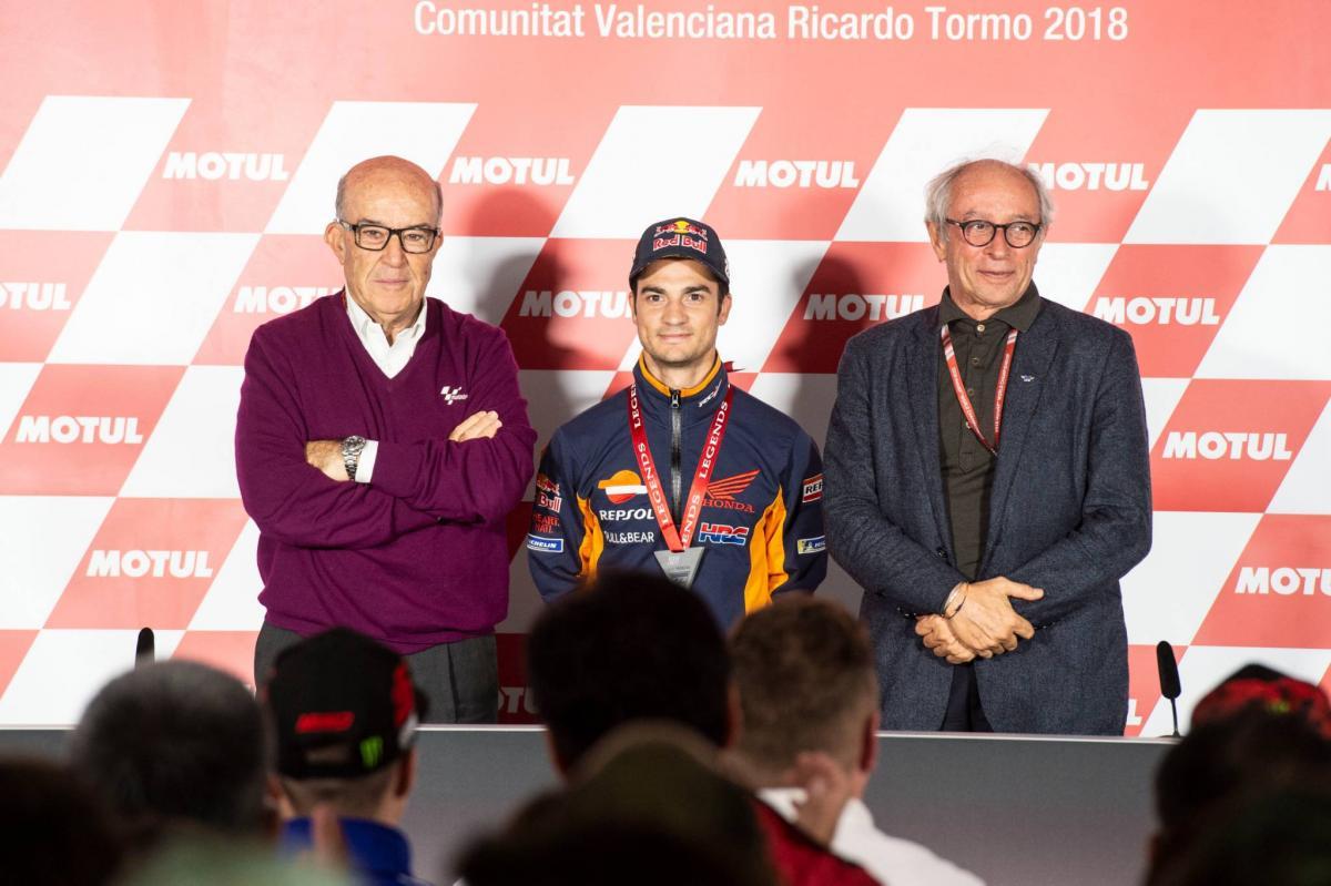 Dani Pedrosa made a MotoGP Legend