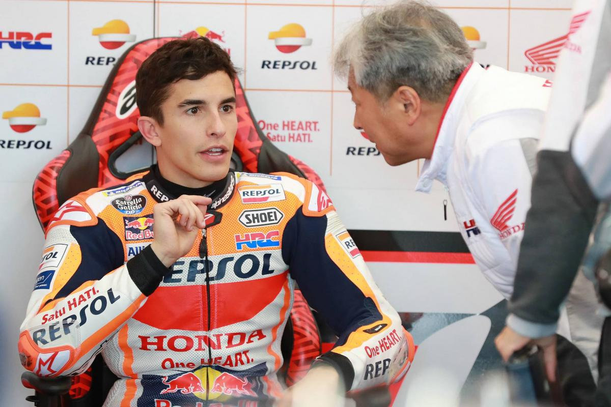 "Marquez expects shoulder recovery to take ""all winter"""