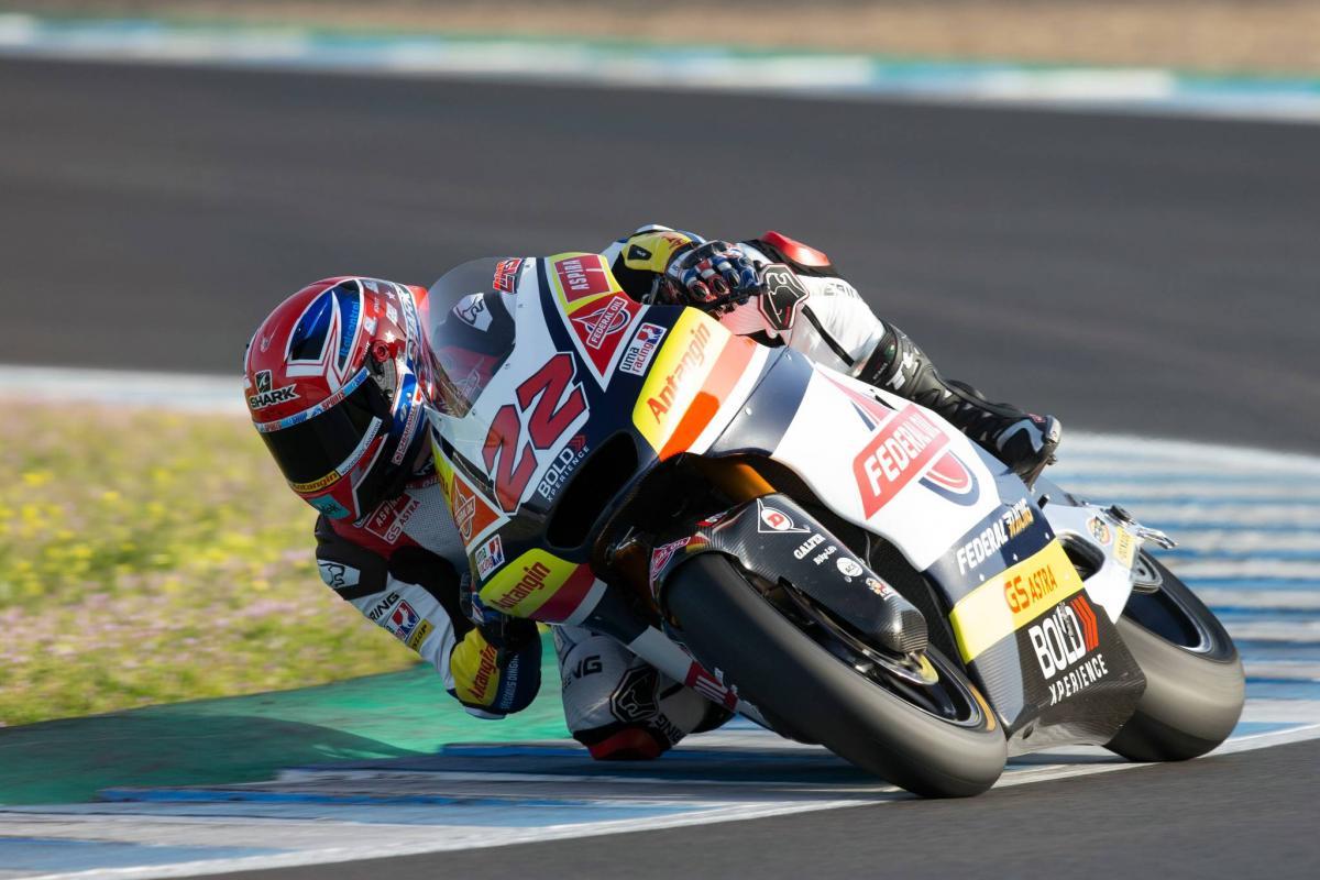 Brad Binder finishes third at Jerez test - The Bike Show
