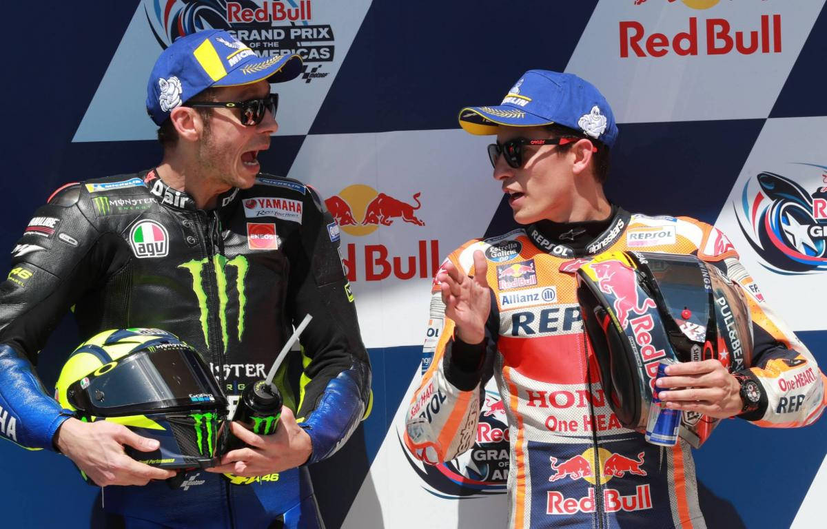 Rossi second, feeling 'strong' after 'strange day'