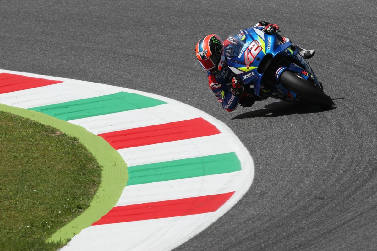 Rins finds thrills in both 350km/h speed and Suzuki handling