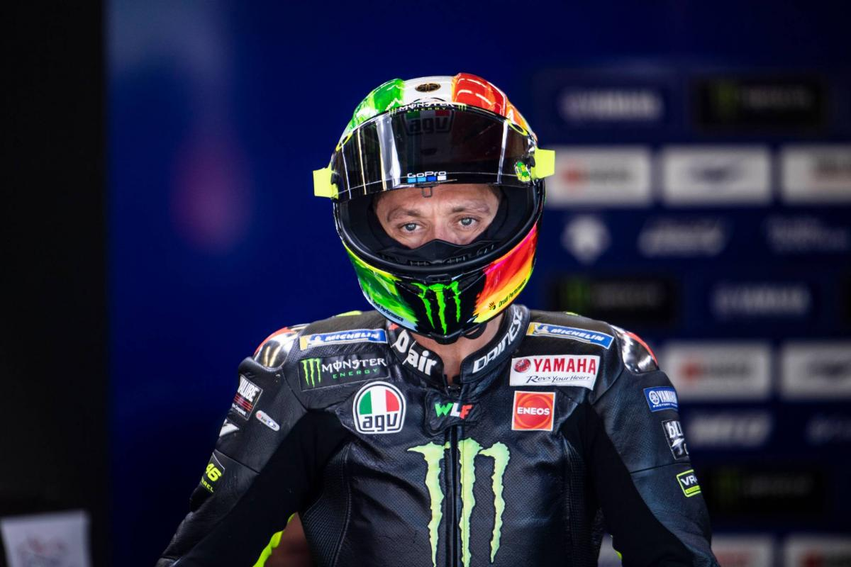 Rossi braced for 'another challenging weekend'