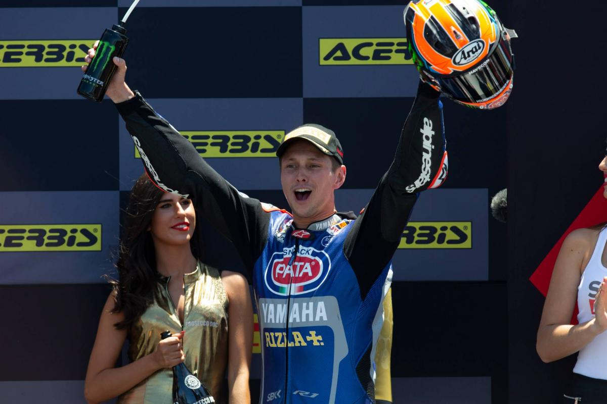 In-form van der Mark carries confidence to Misano