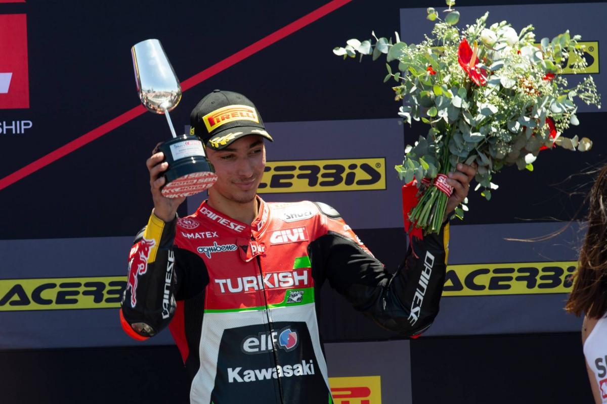 Razgatlioglu eyeing 'official Kawasaki' after podium glory