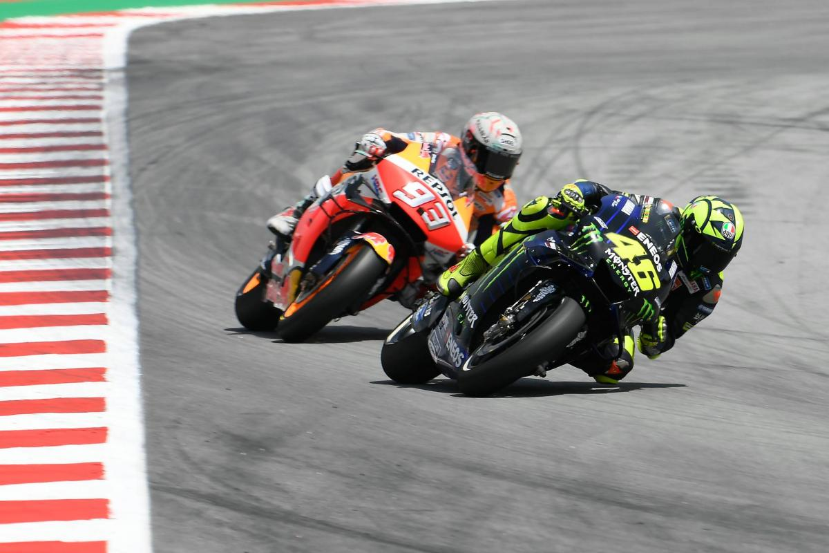 Rossi: Marquez not only fast, but clever…