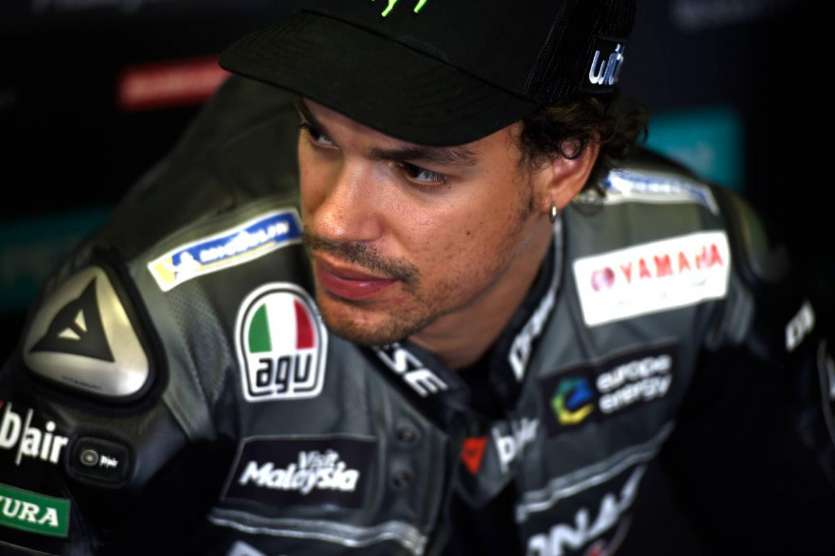 Morbidelli cleared for qualifying after huge FP3 crash
