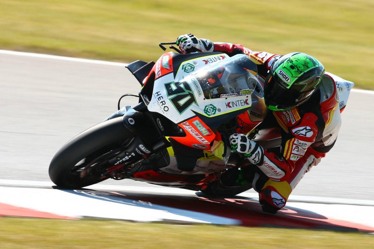 Laverty certain of full racing return at 'opposite' Laguna Seca