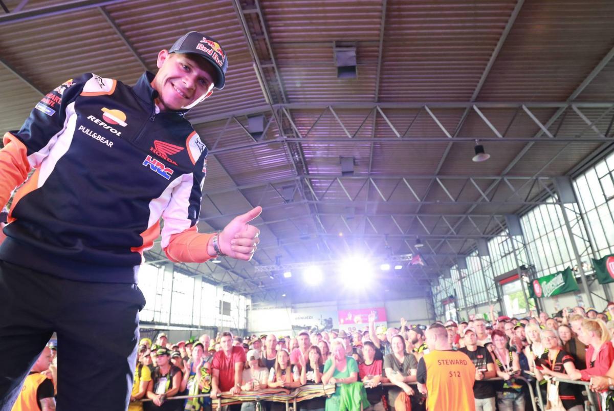 Bradl 'enjoys every moment' of Repsol Honda debut