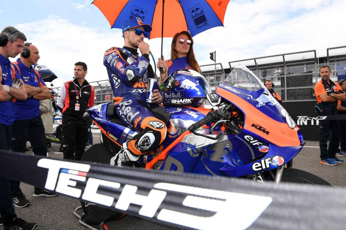 Oliveira, Tech3 'sad' as best of season slips away
