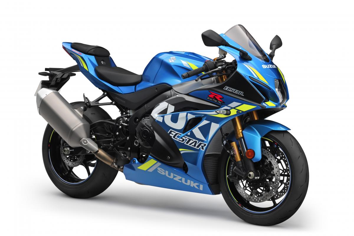 Suzuki enhances GSX-R1000 with new MotoGP colour scheme