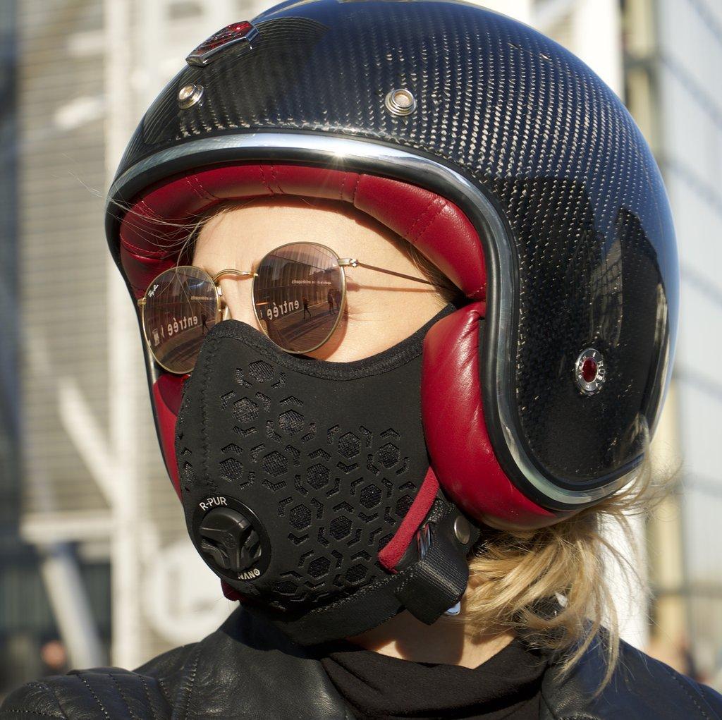 R Pur Nano Mask Unveiled At Ces Visordown