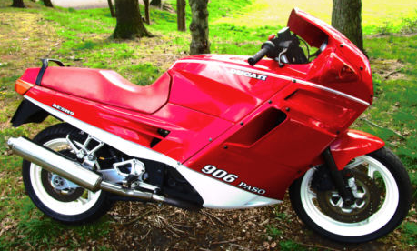 Ex Nigel Mansell Ducati up for grabs at the Autosport auction