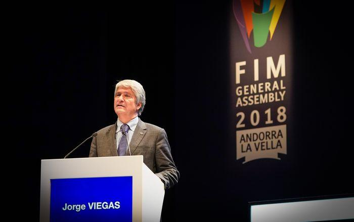 Jorge Viegas elected as FIM President