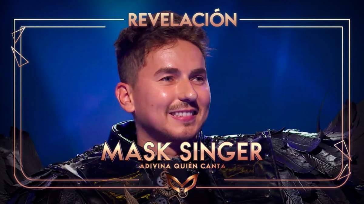 Jorge Lorenzo - Masked Singer - Cuervo