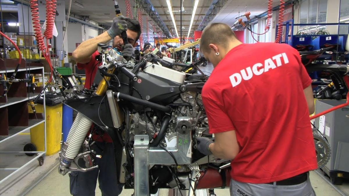 Ducati Factory in Borgo Panigale