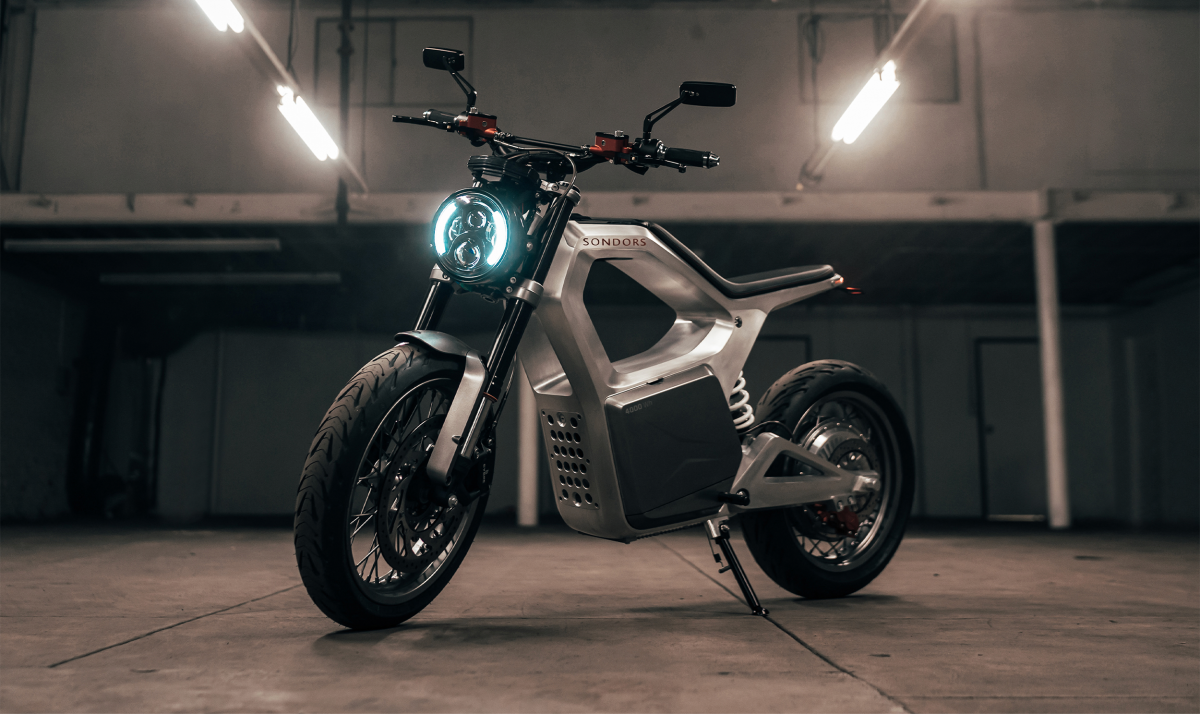 Sondors Metacycle electric motorcycle