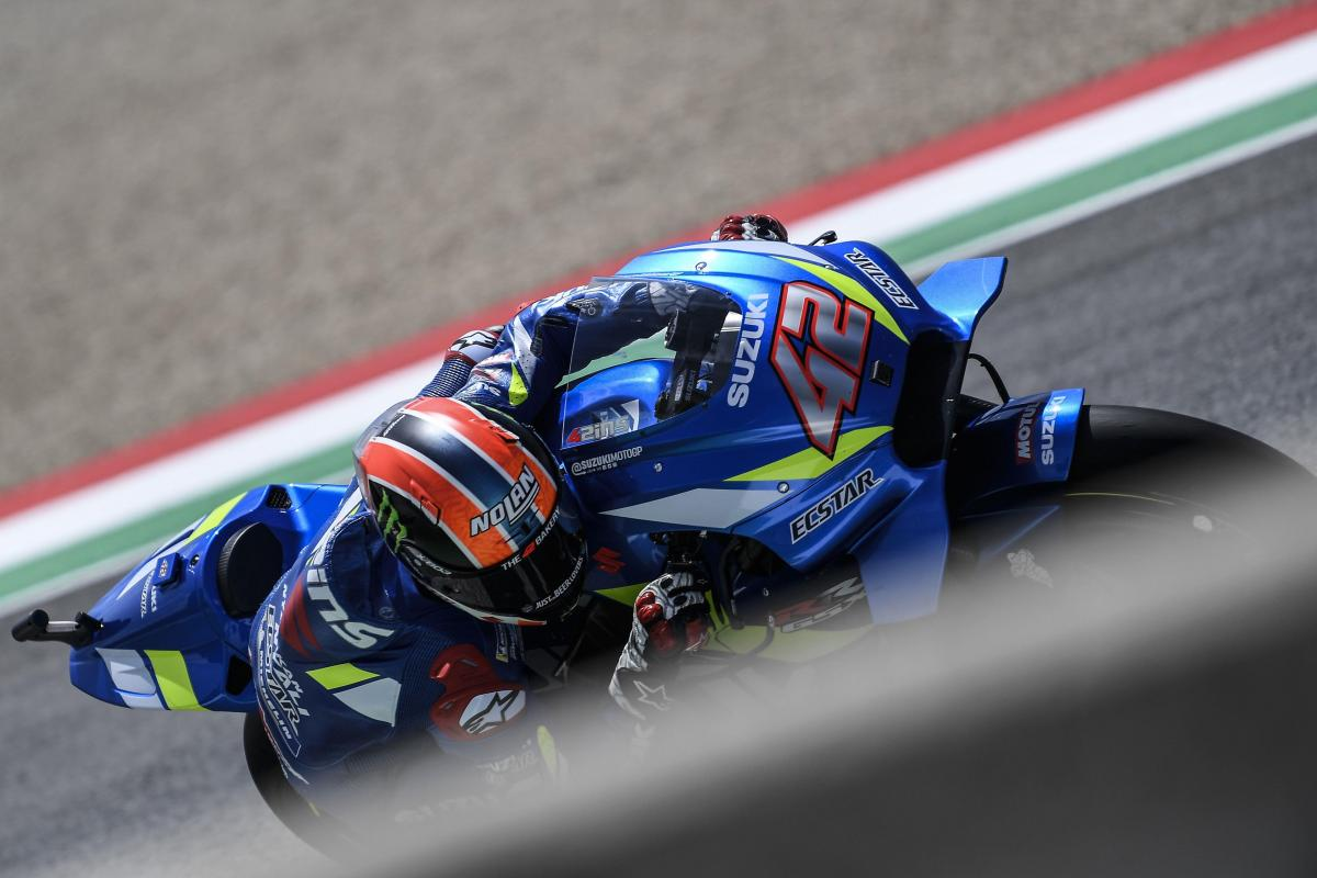 "Rins on Q1 time-out: ""I thought Rossi would be pushing"""