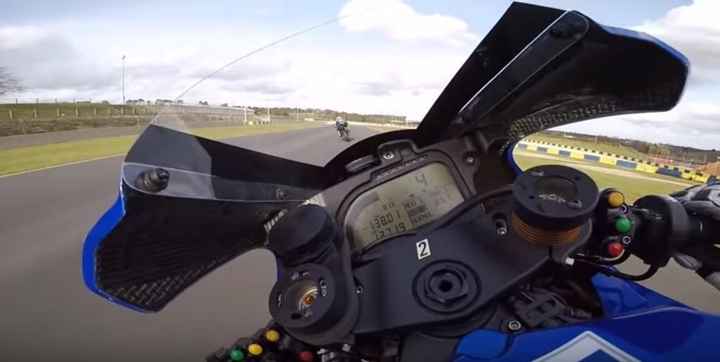 Niccolo Canepa onboard at Le Mans 2019