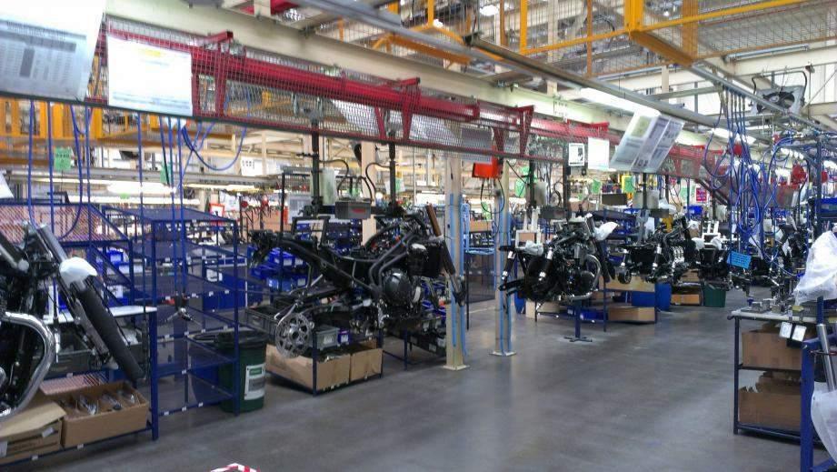triumph production line