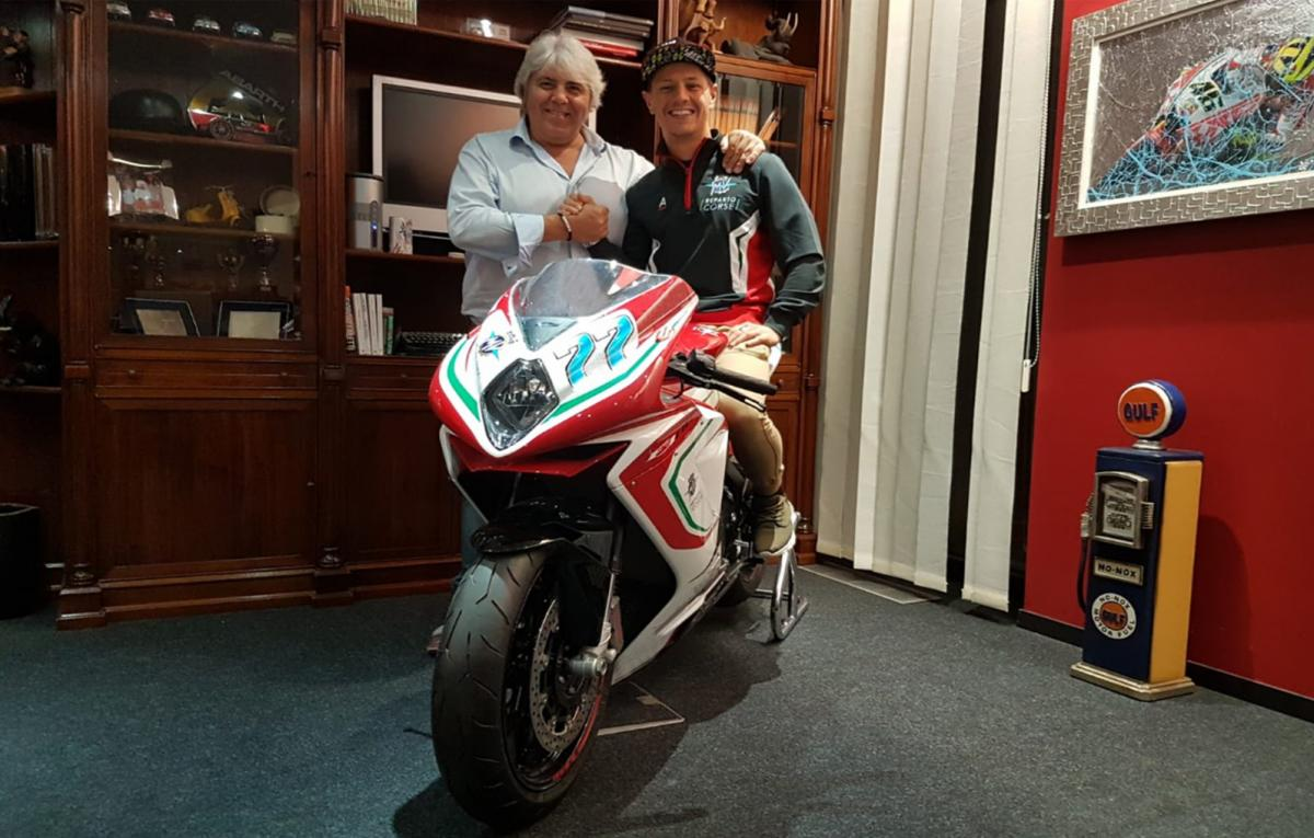 Aegerter joins MV Agusta Forward Moto2 project for 2019