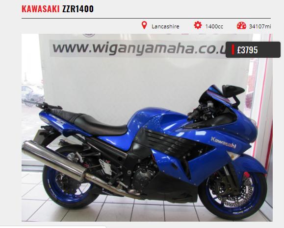 Bike of the week   Kawasaki ZZR1400