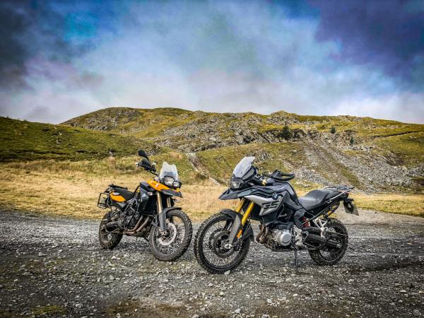 BMW F850GS vs F800GS