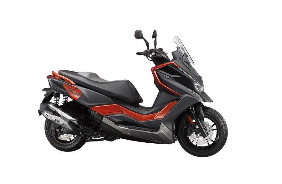 a new adventure motor scooter