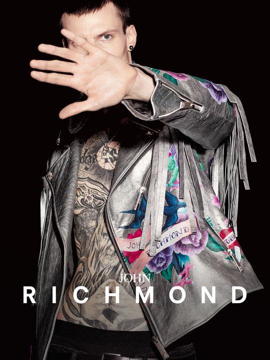 John Richmond_Silver Leather Jacket_IG.jpg - Men - Tyler Johnston