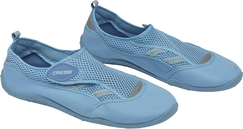 Cressi Water Shoes Zapatillas de Aqua, Unisex, Negro, 45