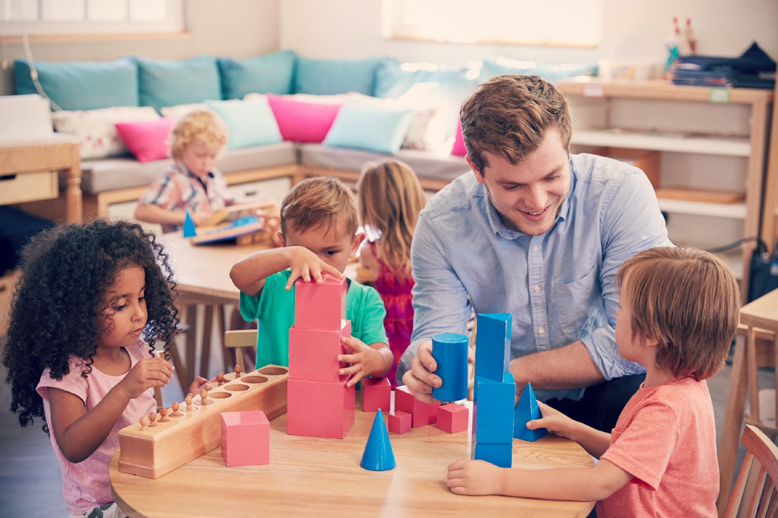 Regalos Montessori
