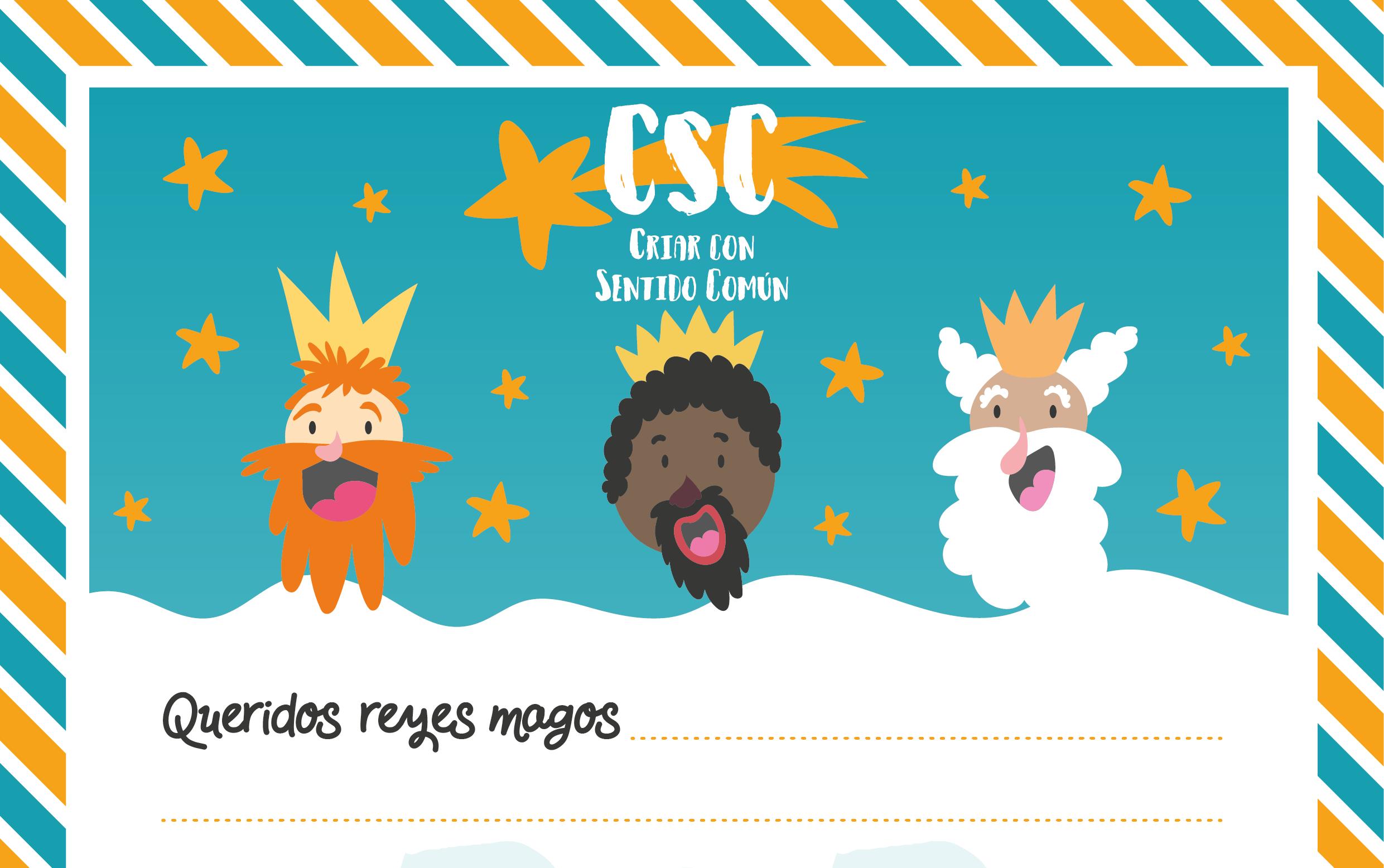 """Dias De Reyes Magos Descargar carta de los reyes magos exclusiva de """"criar con sentido"""