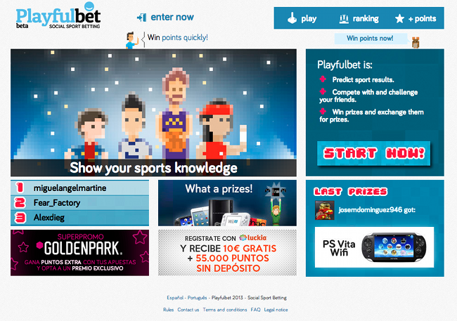 Playfulbet homepage