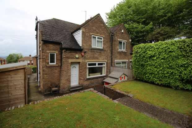 3 Bedrooms Semi Detached House for sale in Hollingwood Lane, Bradford, West Yorkshire, BD7 4AL